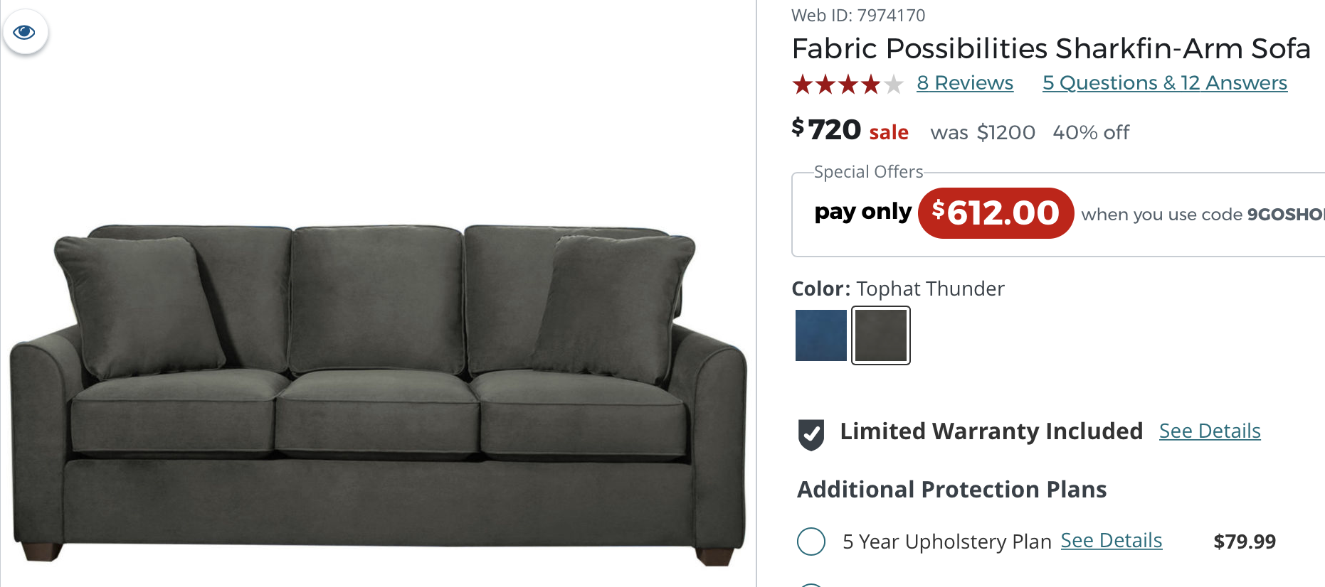 Https Www Jcpenney Com P Fabric Possibilities Sharkfin Arm Sofa Ppr5007218473 Ptmpltype Regular Deptid Dept20000011 How To Plan Fabric This Or That Questions