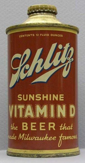 Vitamin d beer 1930s