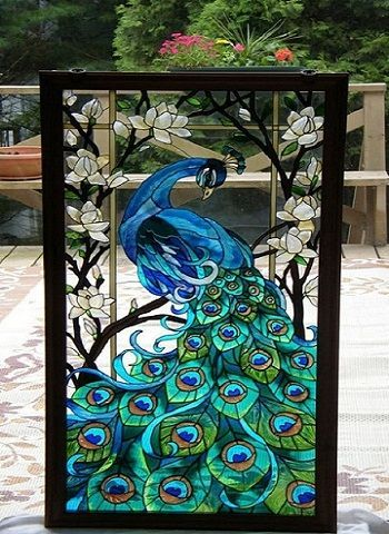 Window Glass Painting Designs For Home Google Search Art Stained Faux Stained Glass Glass Painting Designs