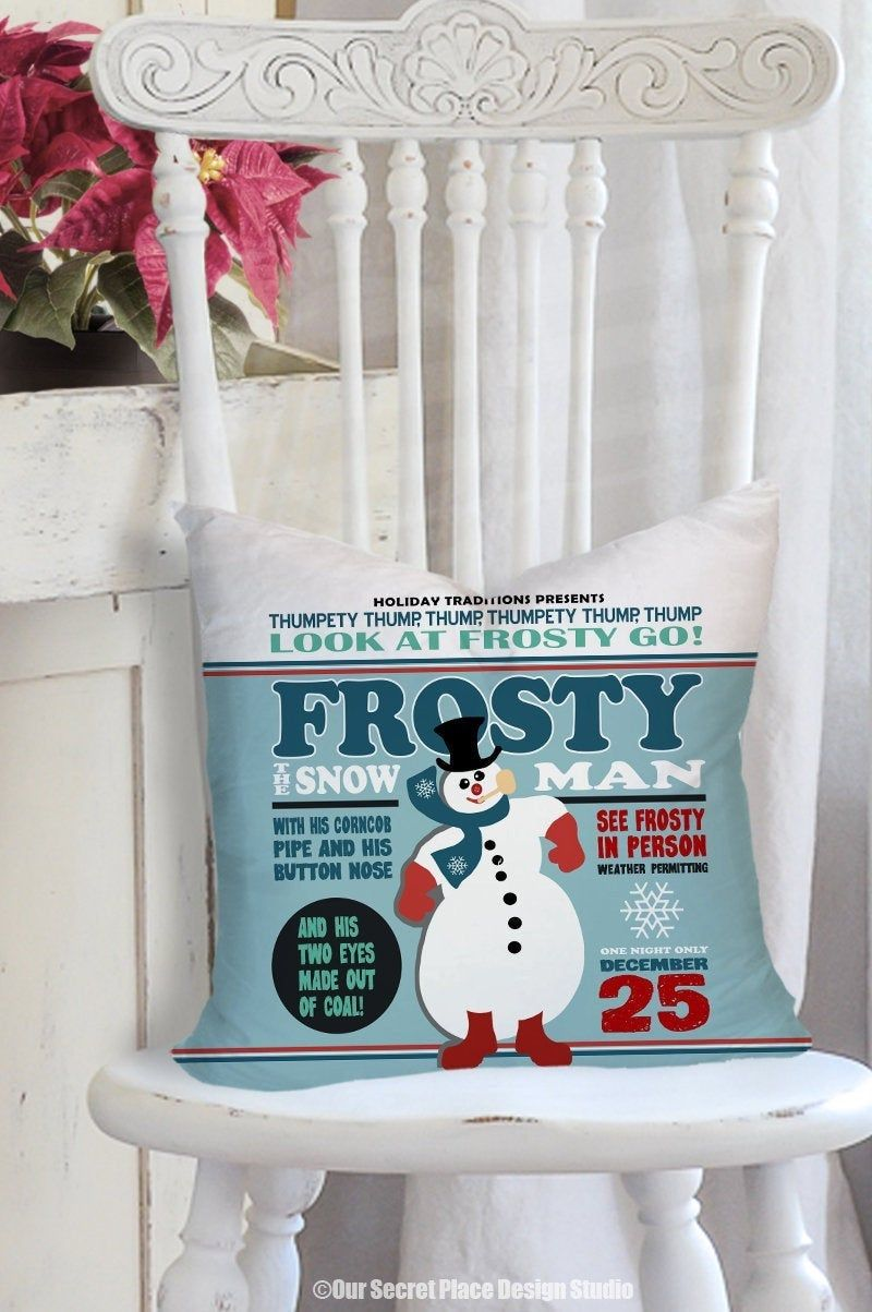 Pillow Christmas Throw Pillows Kids