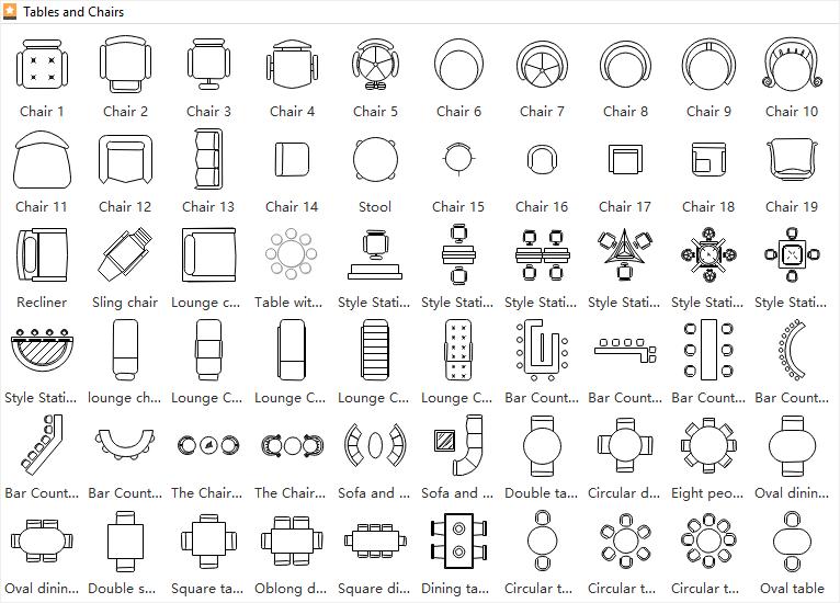 Floor Plan Symbols Floor Plan Symbols Cafe Floor Plan Floor Plan Sketch