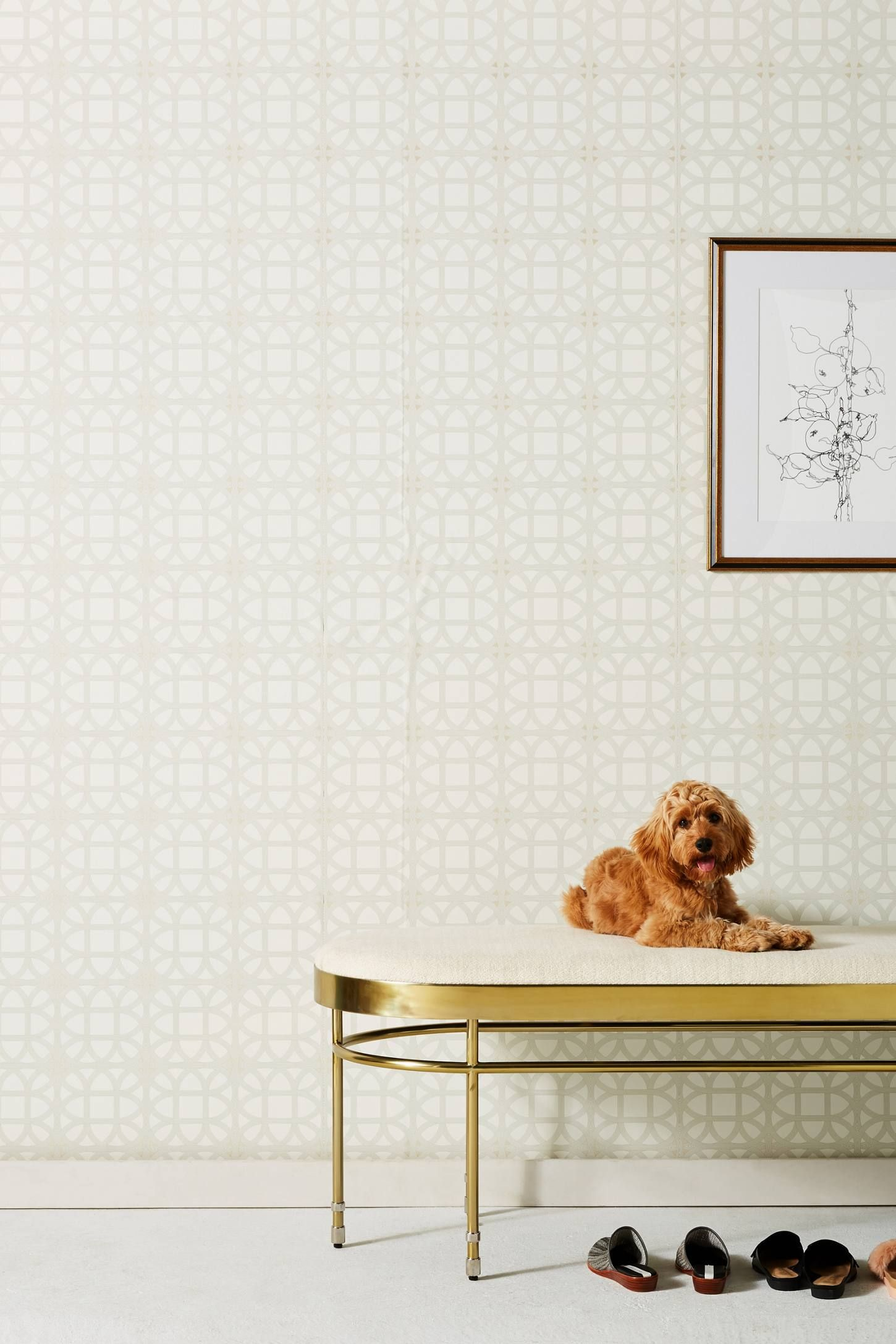 Shop the Lamerie Wallpaper and more Anthropologie at