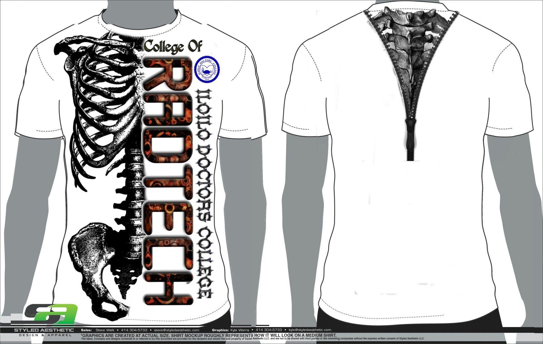 Radtech shirt design choices