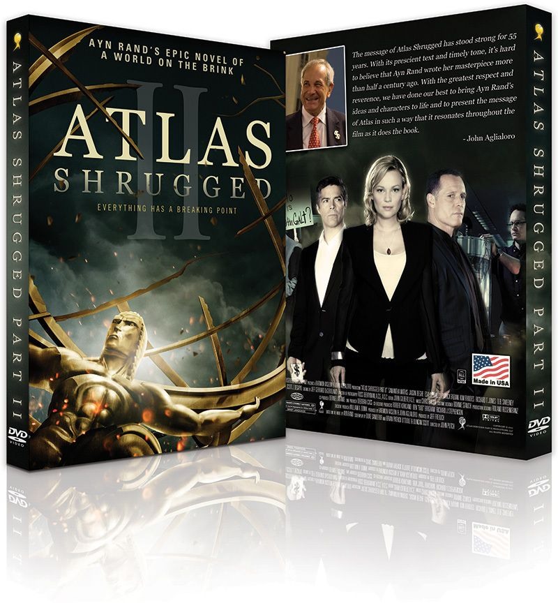 Atlas Shrugged Part 2 Dvd 2 Disc Special Edition Lola
