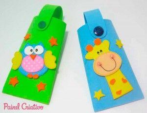 Lembrancinha dia das criancas porta guloseima corujinha girafinha eva (3)