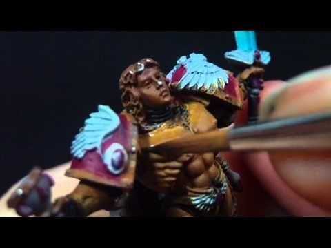 How to Paint NMM GOLD pt 1 - YouTube