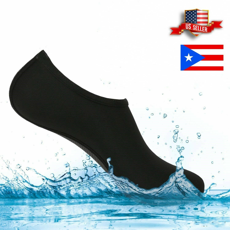 Water Shoes Quick-Dry Barefoot Skin Socks Aqua Beach Swim Water Sports Vacation