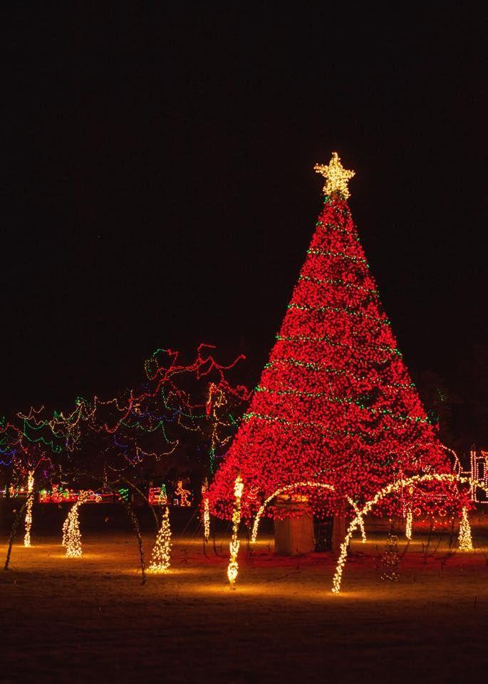 Christmas in the Park – Yukon, Oklahoma. | Christmas | Pinterest