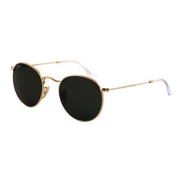18d2c8ef4 Ray-ban Round Metal Rb 3447 | Ray-ban Sunglasses (335 BRL) ❤ liked ...