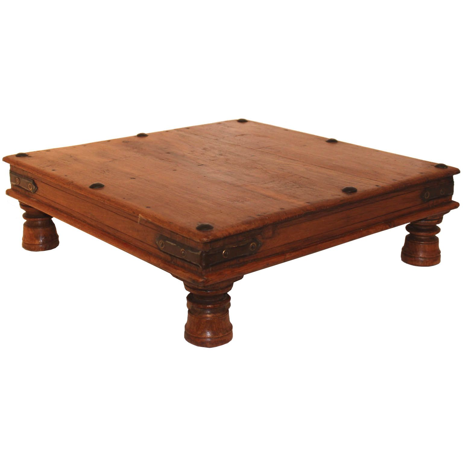 This Acacia Chowki Table Is A Low Wood Table From India. You Can Place It