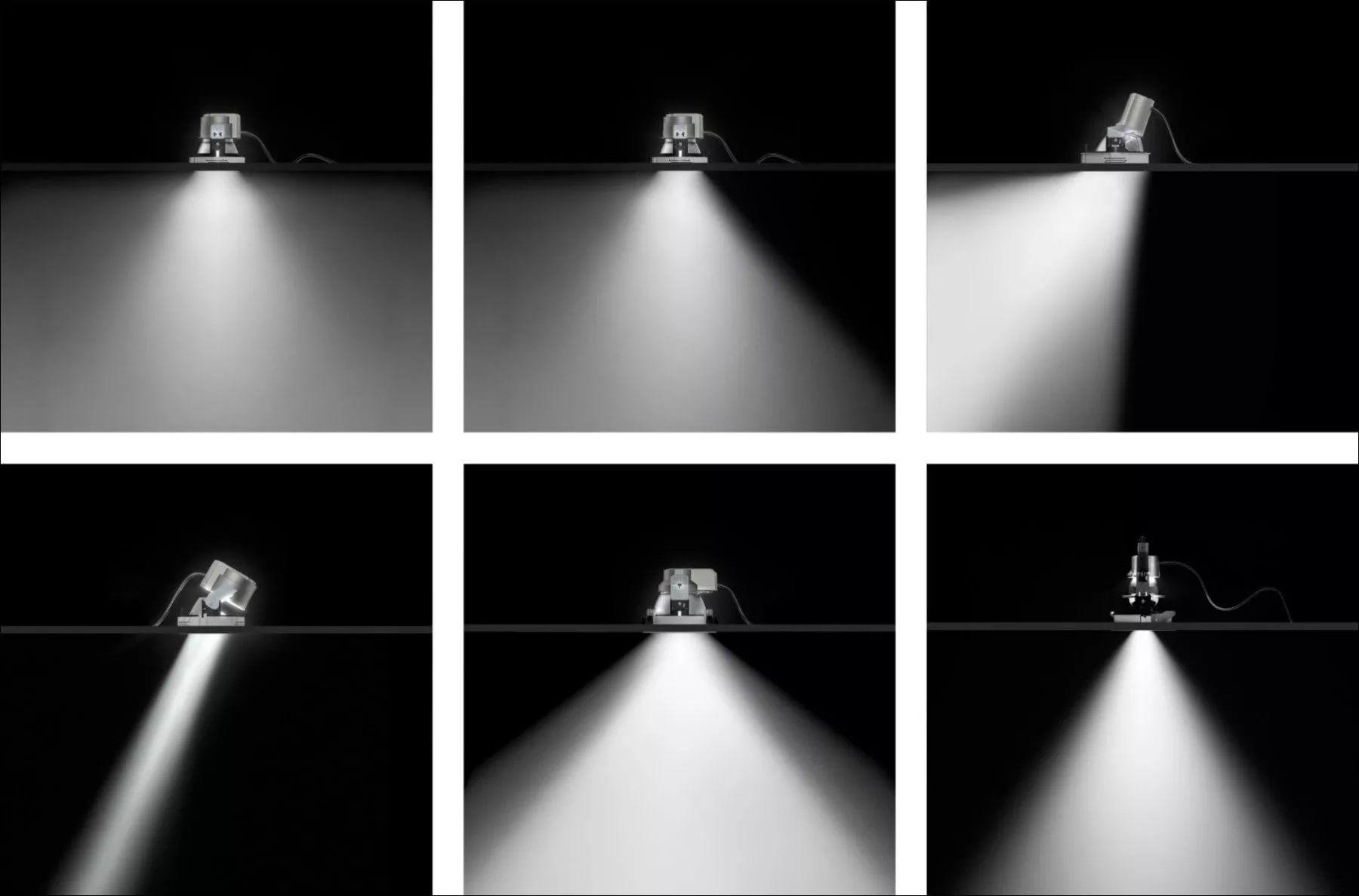 ERCO 38042000 Quintessence Directional luminaire 1xLED 6W warm white ...