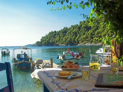 Vintage Travel Go Holiday Skopelos Greece Visiting Greece Skiathos Greece