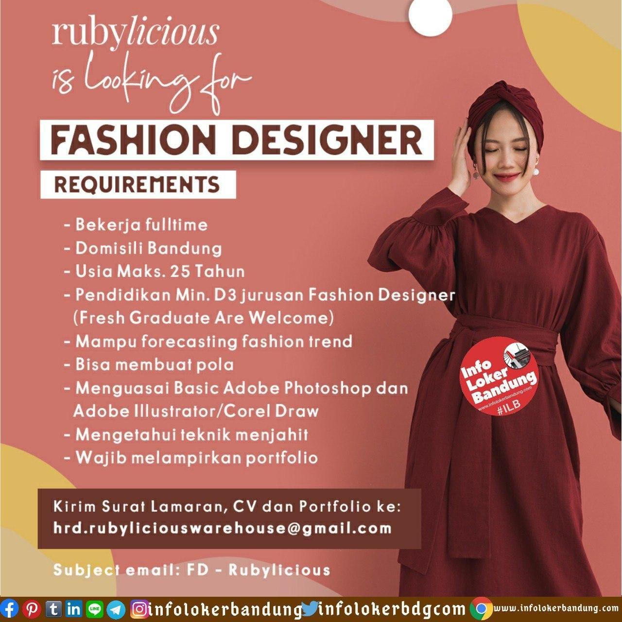 Lowongan Kerja Rubylicious Bandung Juni 2020 ...
