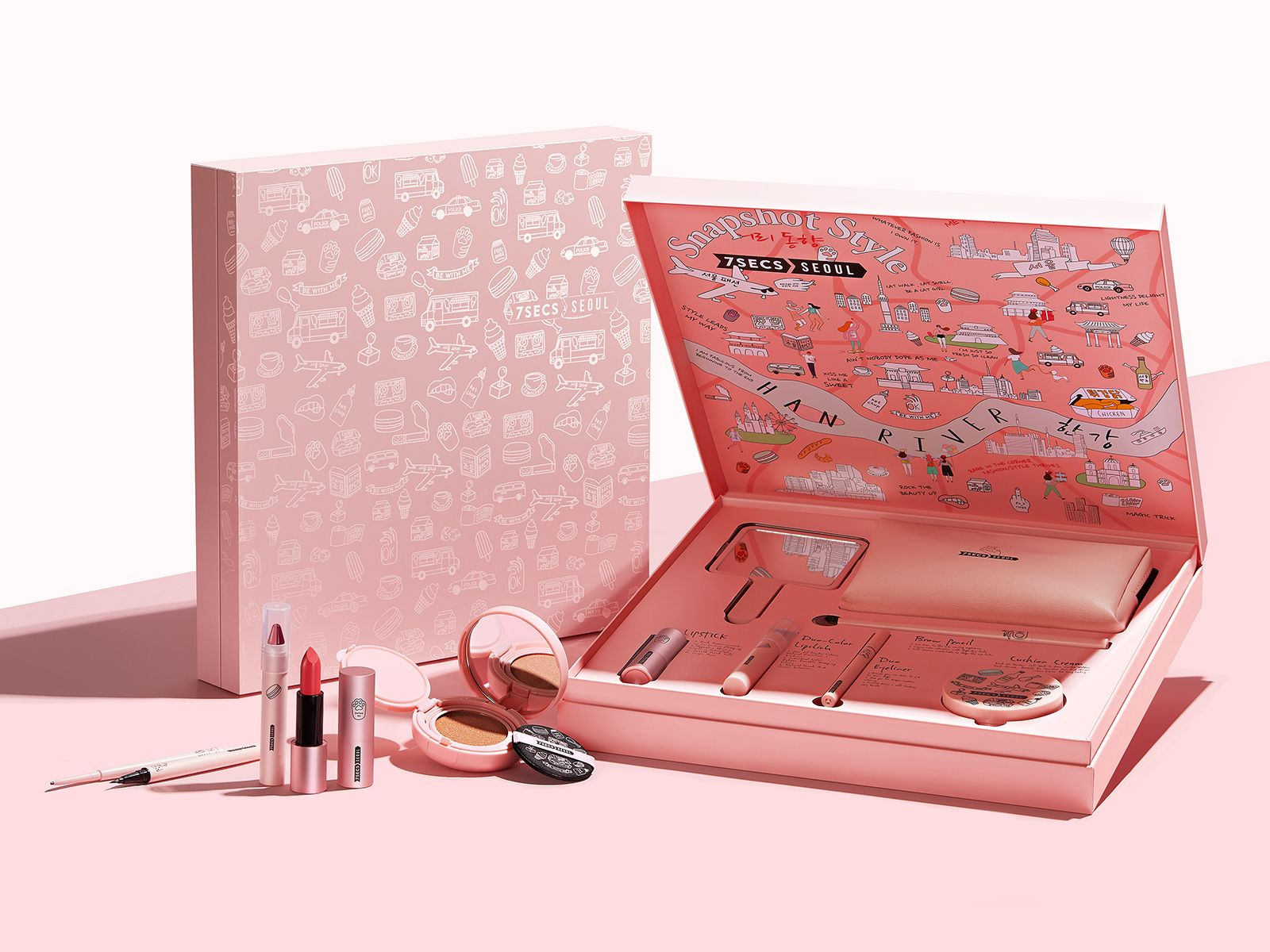 1f15602e8ce 7SECS COSMETIC beauty MAKEUP -gift set PACKAGE DESIGN - by NIANXIANG 念相设计  www.nx-design.net