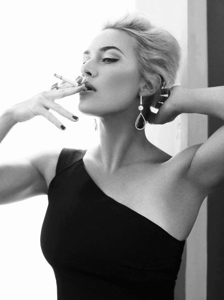 Kate Winslet.... now I want a cigarette.