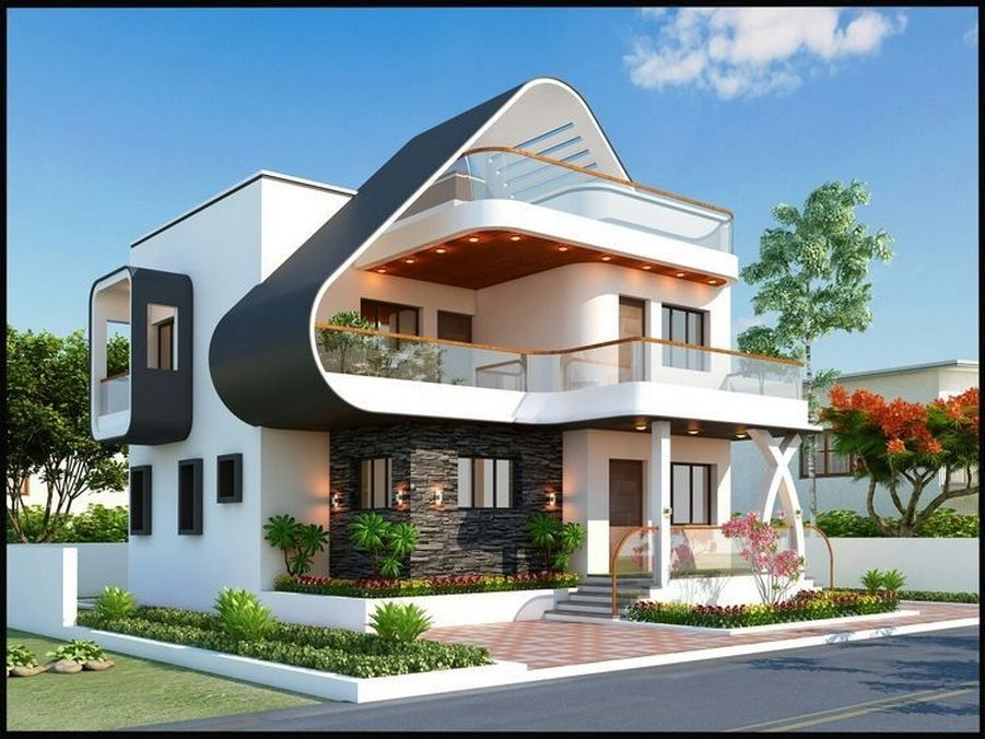 34 Samples Of Modern Houses Most Popular Exterior Design Exterior Renovation Ideas That Are Right For Your Home In 2020 With Images Facade House Bungalow House Design House Exterior
