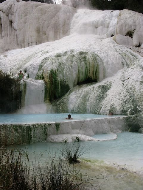 Fosso Bianco In Bagni San Filippo East Coast Cool Places To