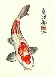 La Carpa Koi Simbolo De Amor En La Cultura Japonesa Dessin