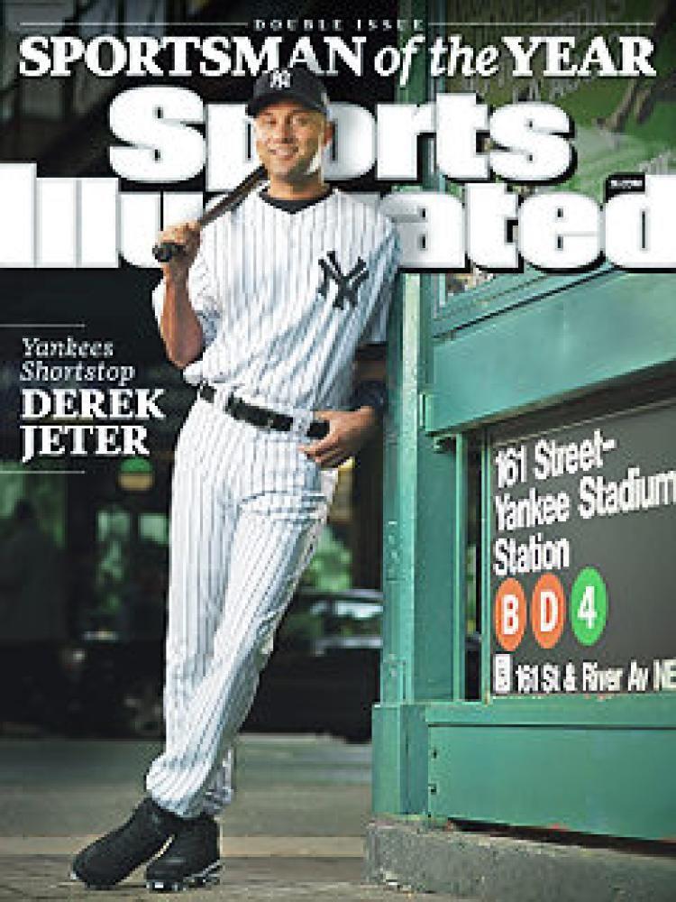 New York Yankees captain Derek Jeter named Sports