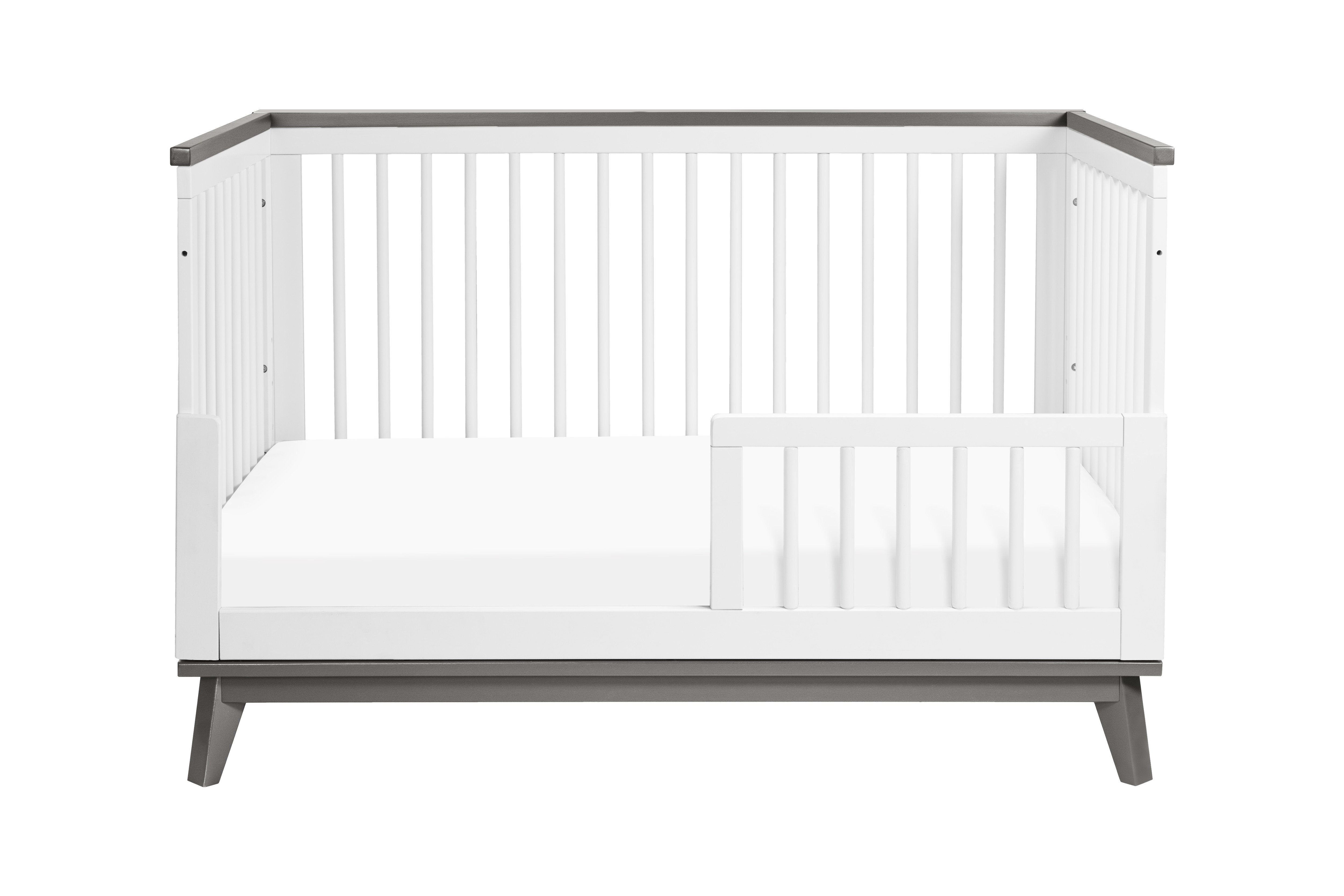 Scoot 3 In 1 Convertible Crib With Toddler Bed Conversion Kit Toddler Bed Convertible Crib Cribs