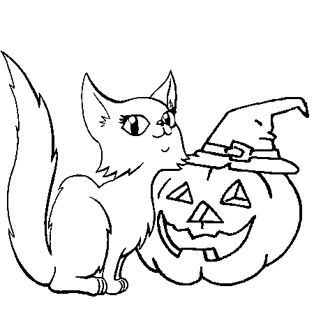 Dessin citrouille d 39 halloween a colorier dessin colorier - Dessin citrouille d halloween ...