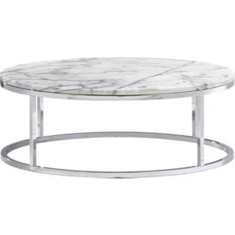 Smart Marble Coffee Table From Cb2 Marble Top Coffee Table