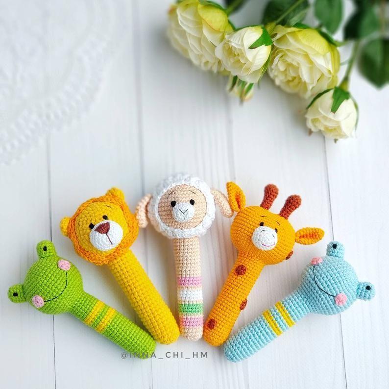 Lulù, sonaglio, bambolina, giocattoli sensoriali, rattle ...   794x794