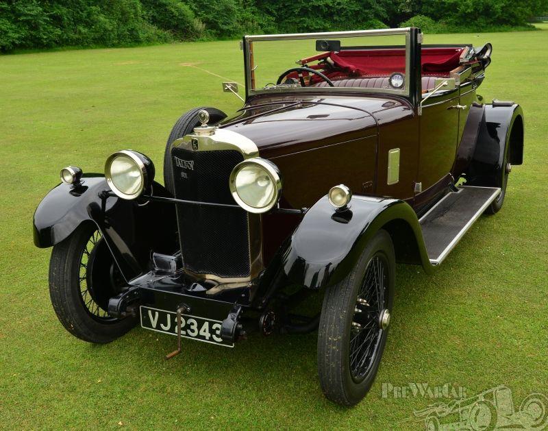 Talbot (London) 14/45 Coupe Cabriolet Talbot 1929. Retro