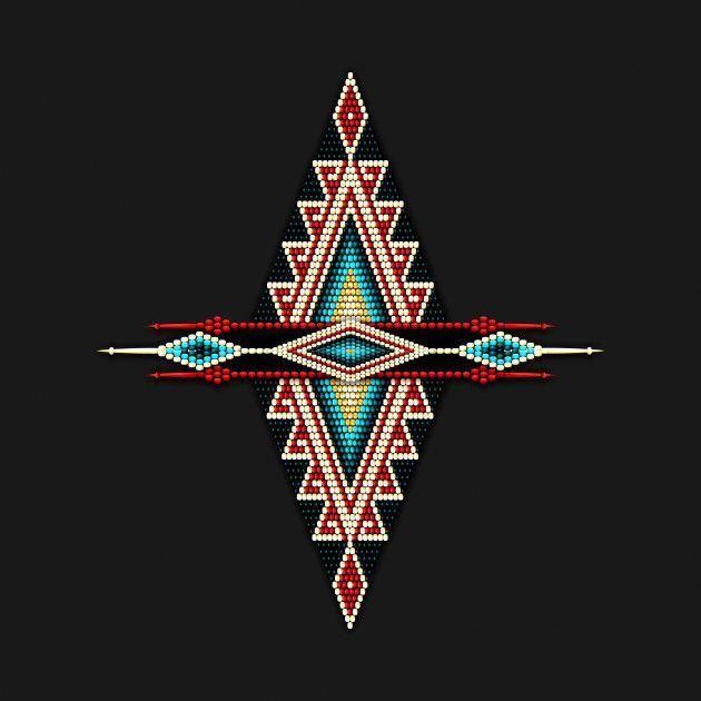 Native American Art Pattern Native Americans