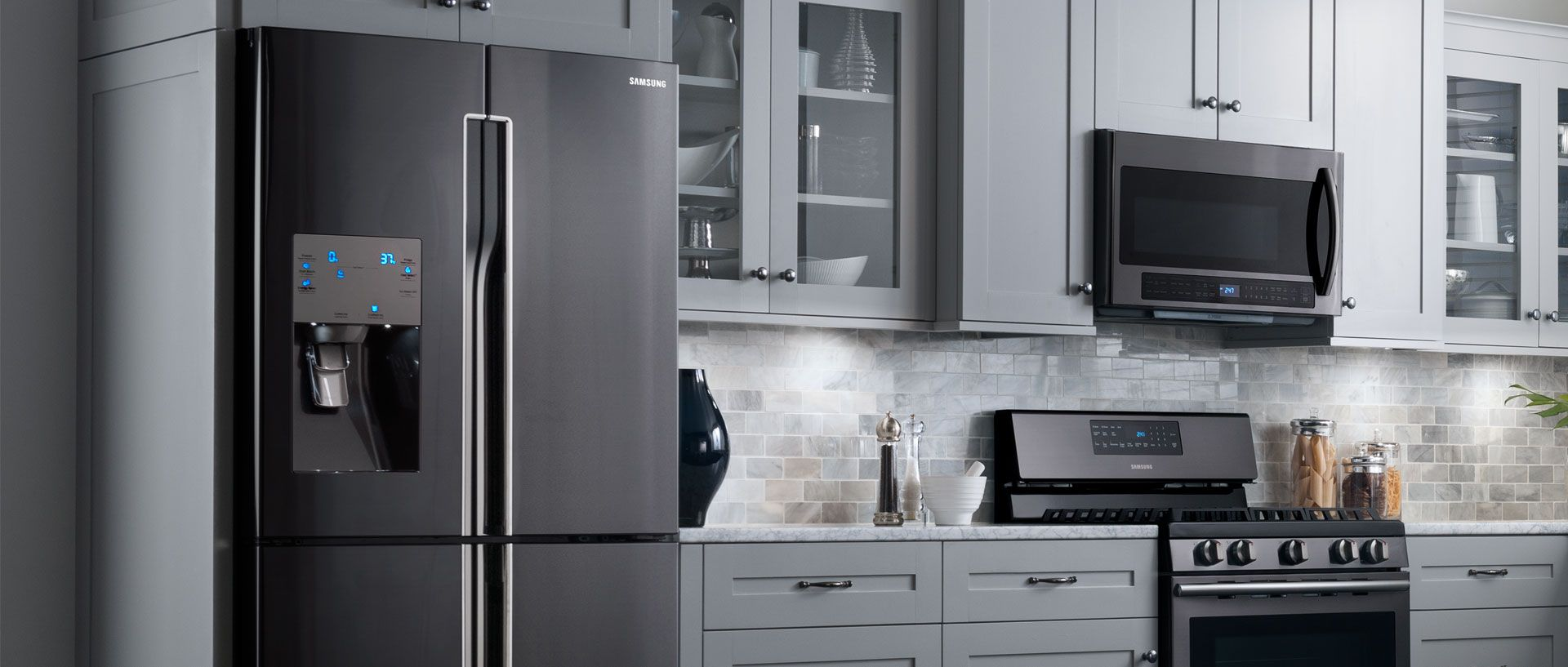 Samsung Chef Collection Suite With Images Farmhouse Chic