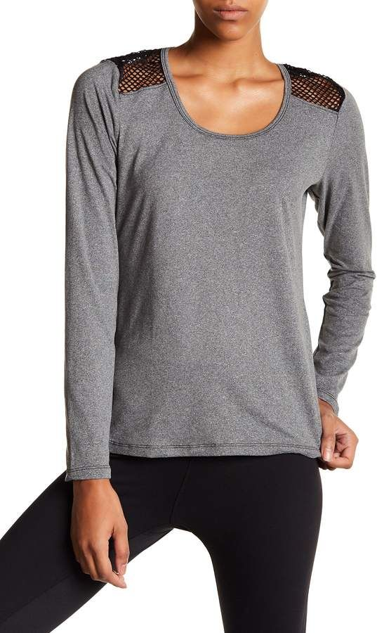 Bally Total Fitness Mesh Back Tee #ad