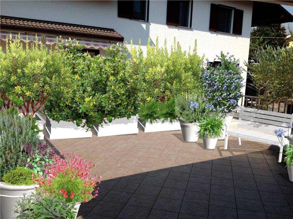 Progettazione terrazzi a milano   Terrazzo   Pinterest   Milano e ...