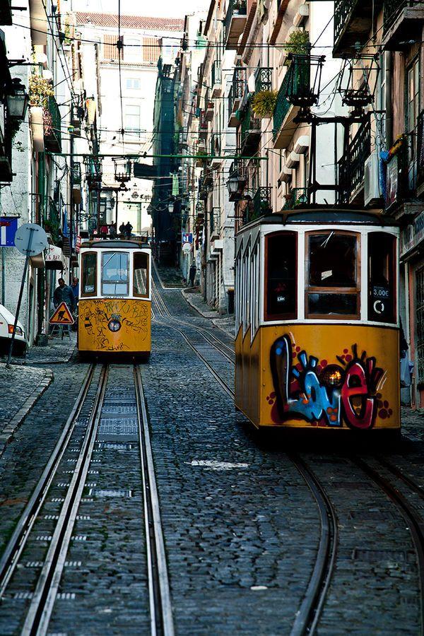Love Lissabon  Für den nächsten Städtetrip nach Lissabon: die wichtigsten Punkte auf der Stadtkarte   Via myself Germany   April 2015 Gegensätze ziehen sich bekanntlich an - in der portugiesischen Hauptstadt finden sie sich: Tradition trifft auf Moderne, Altbekanntes auf Design, Ruhe auf Trubel. Die wichtigsten Punkte auf der Stadtkarte für den nächsten Trip nach Lissabon #Portugal