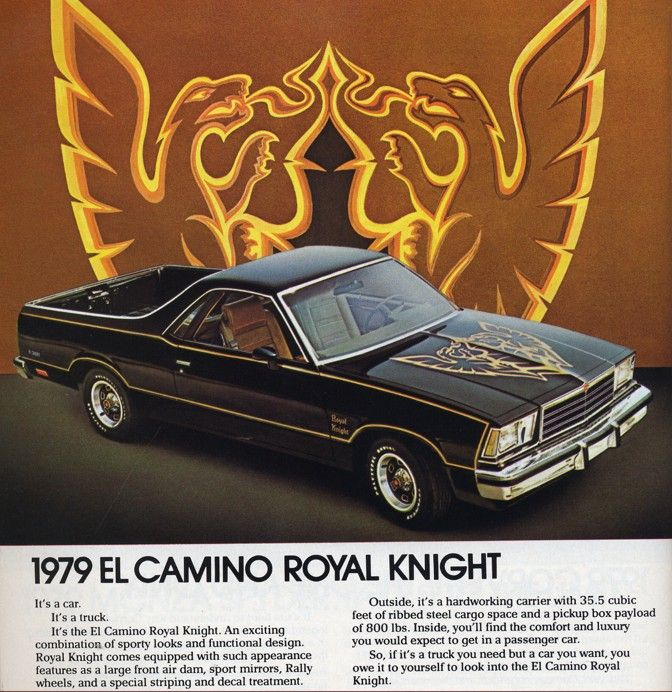 Bowtie Breakthroughs The History Of The 64 87 El Camino Chevyhardcore El Camino Chevrolet El Camino Car Ads