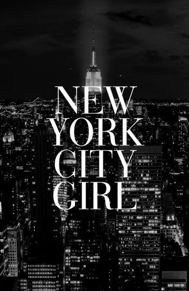 New York City Girl Black White Iphone Case Art Print By Rexlambo Society6 New York City New York Wallpaper New York