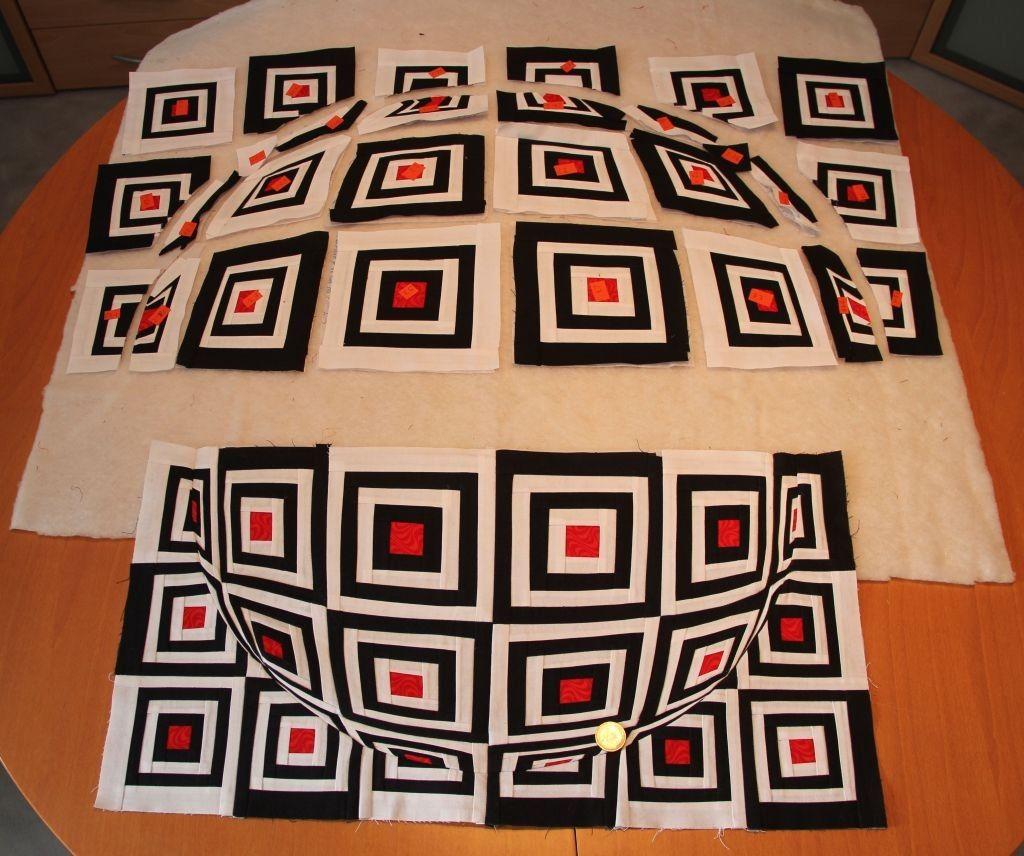 Eva-Maria Camps / Quilts - 3-D Kugel | 3D | Pinterest