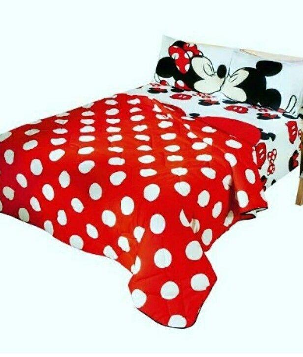 b20ef8e4c3 Jogo de cama Mickey   Minnie  Avon  Campanha15