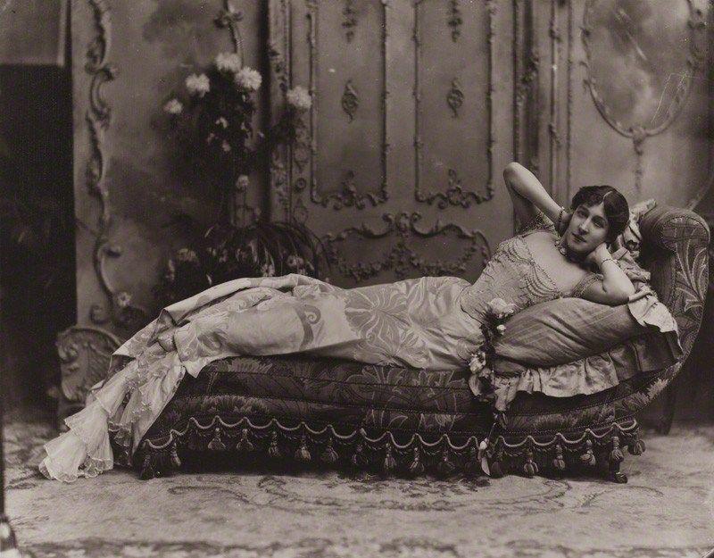 Emilie Charlotte ('Lillie') Langtry (née Le Breton), by Lafayette (Lafayette Ltd), 1899 - NPG x88809 - © National Portrait Gallery, London