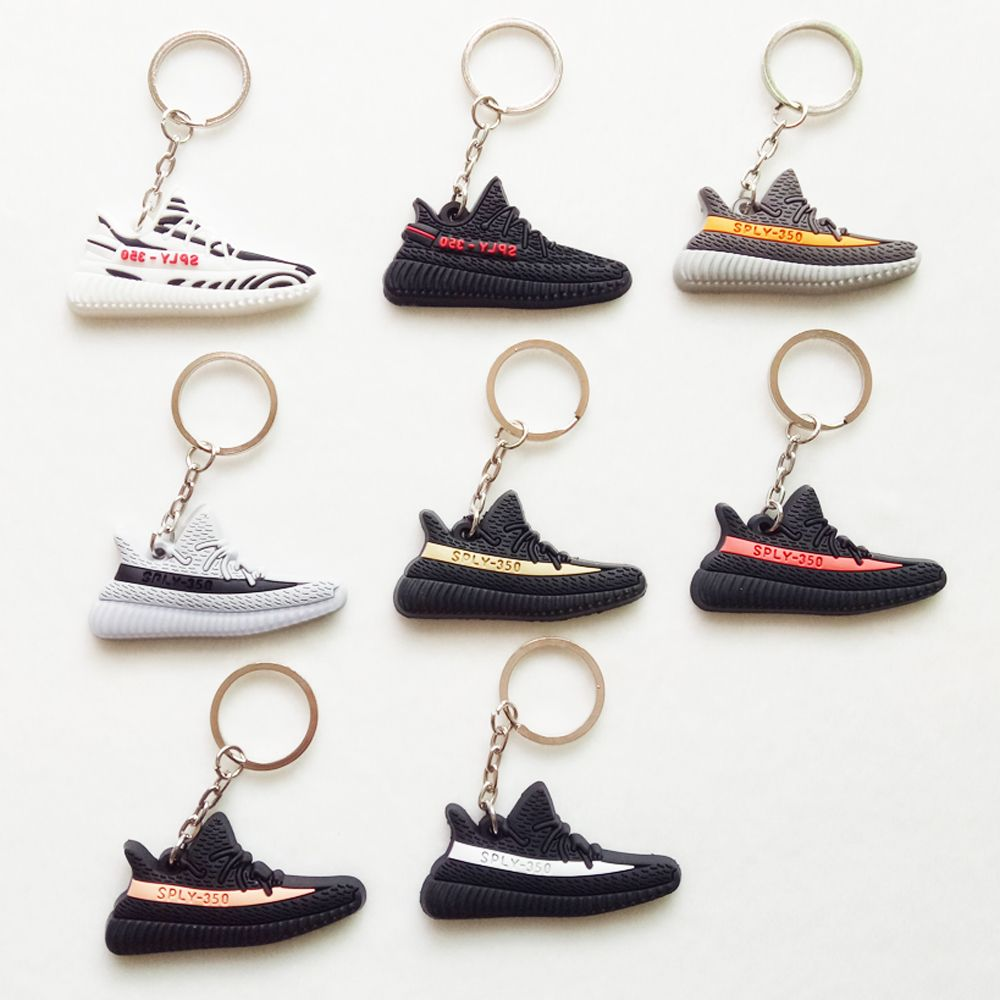 Mini Silicone Sneaker SPLY-350 BOOST 350 V2 Keychain Key Chain Shoes Car  Key Holder Woman Men Bag Charm Accessories Key Rings. Yesterday s price  US   1.50 ... 30c1263c8a5d