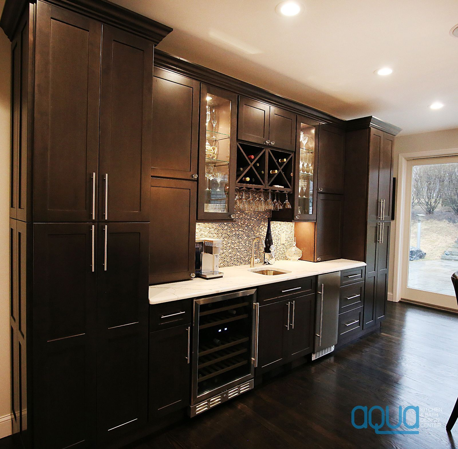Can You Picture It In Your Kitchen Pure Luxury And Elegance That Will Dazzle All Of Your Kitchen Cabinets And Countertops Custom Kitchen Cabinets Aqua Kitchen