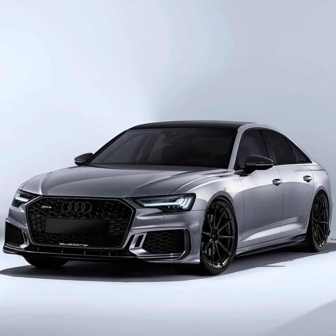 The New Audi Rs6 C8 Sedan Concept Engine 4 0 Tfsi V8