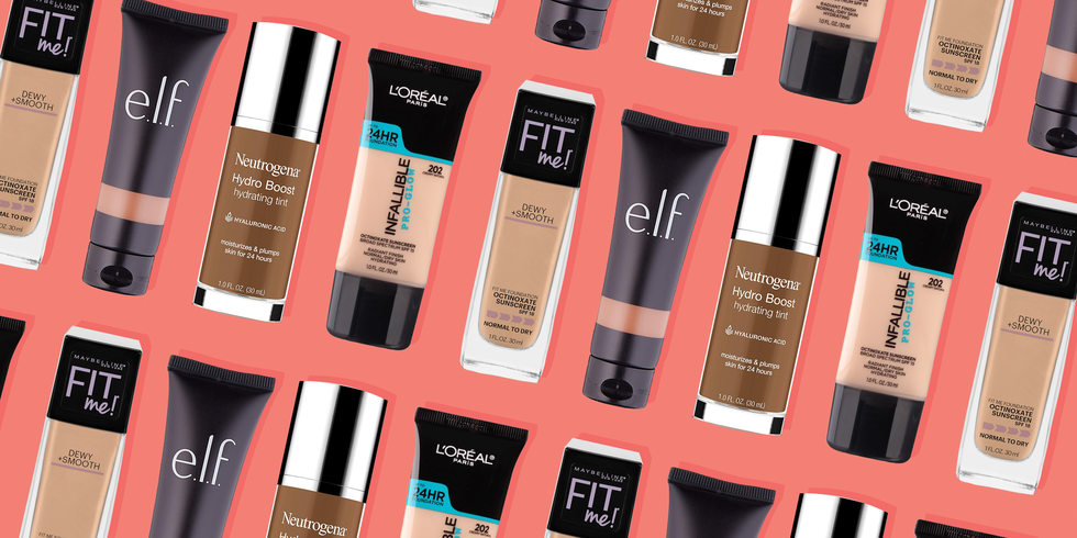 The Best Drugstore Foundations to Transform Your Dry Skin