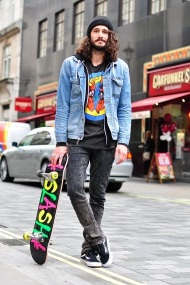 296384d4520 Skater look London Street Style