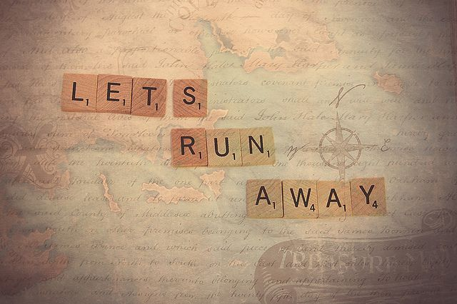 let's run away by Morningdew Photography, via Flickr