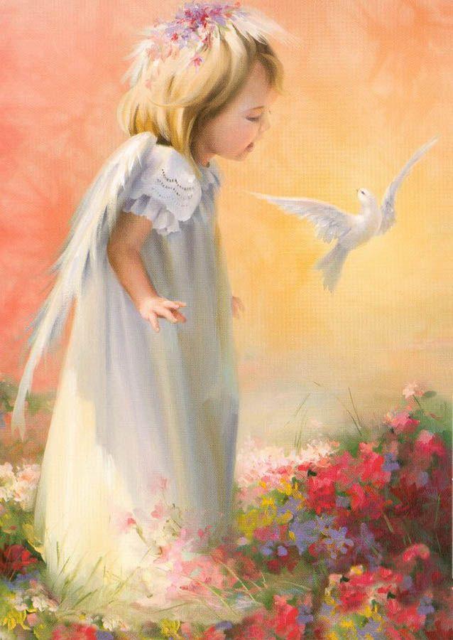 Imágenes ángeles Bebes Alicia A