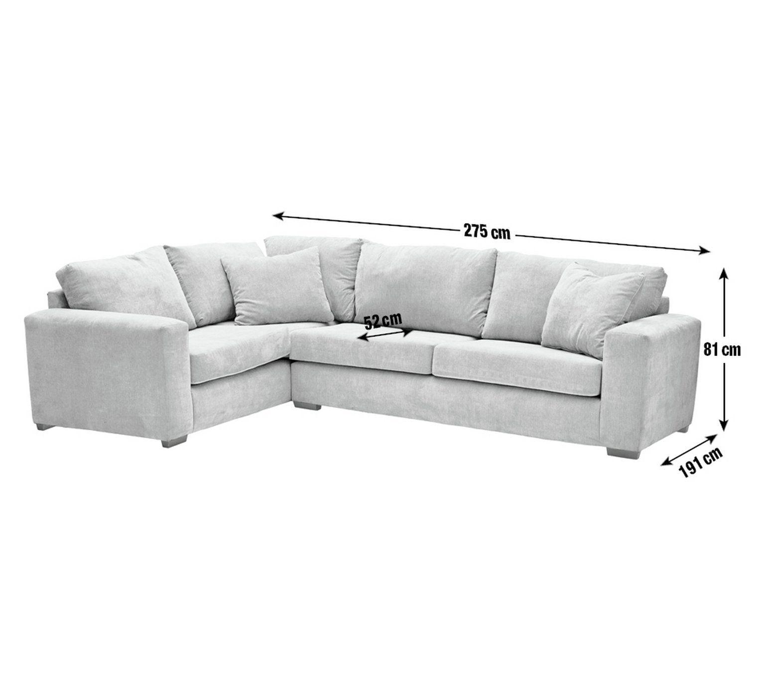 Buy Argos Home Eton Left Corner Fabric Sofa Black Sofas Black Fabric Sofa Black Sofa Fabric Sofa