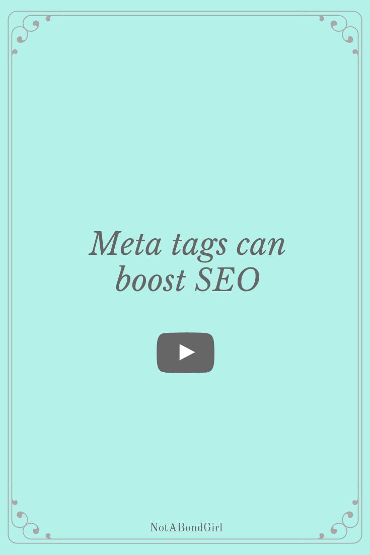 Meta Tags Can Boost SEO