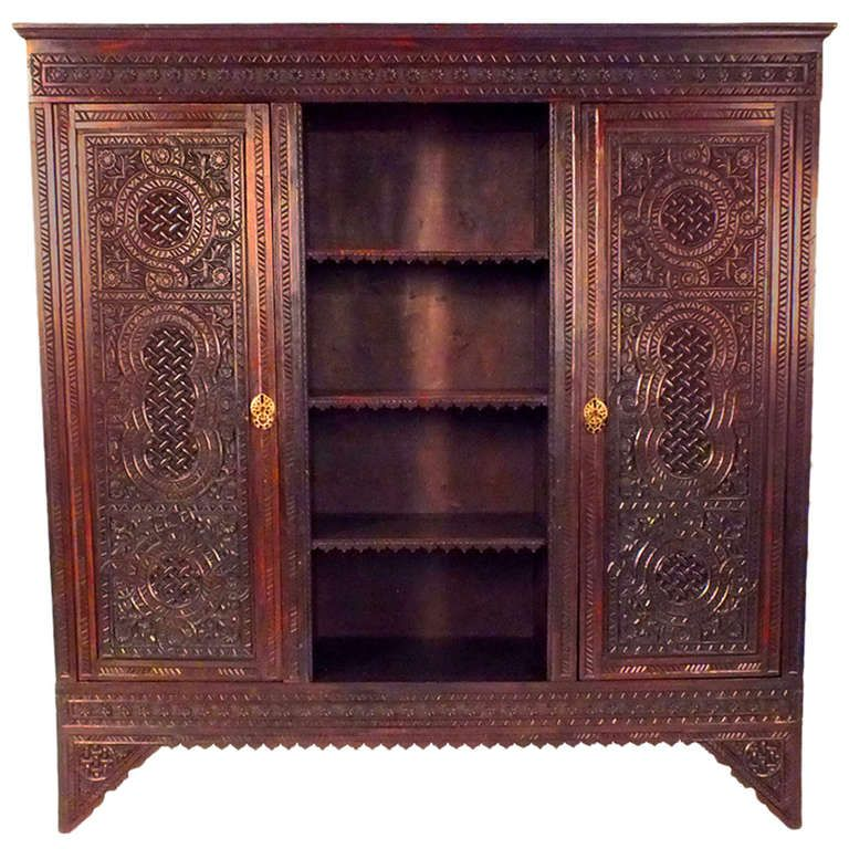 1910u0027s Moroccan Style Armoire