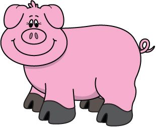 pig clipart google zoeken varkensplaatjes pinterest clip art rh pinterest co uk clip art of pigs and cows clipart of pig butts