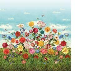 Pip Wild flowerland Bildtapet